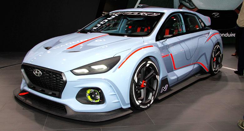 Hyundai RN30 Concept: Hot-hatch zat�m jen jako okruhov� koncept