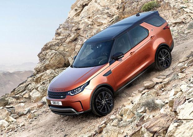 Nový Land Rover Discovery odhaluje české ceny. Kolik stojí?