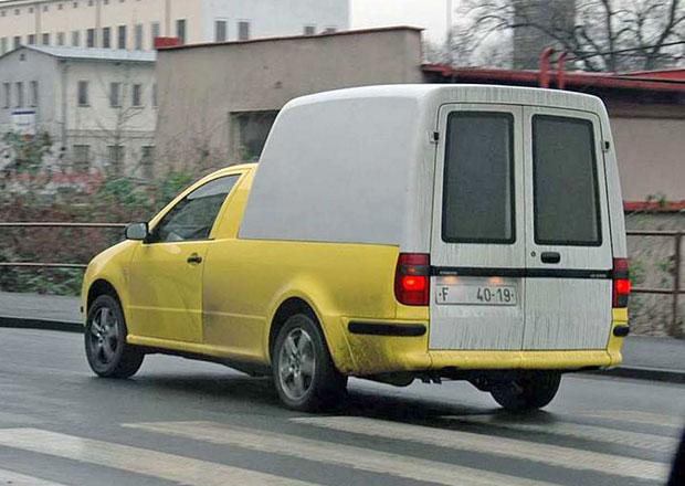 Škoda Fabia Pick-up: Proč se nakonec nevyráběla?