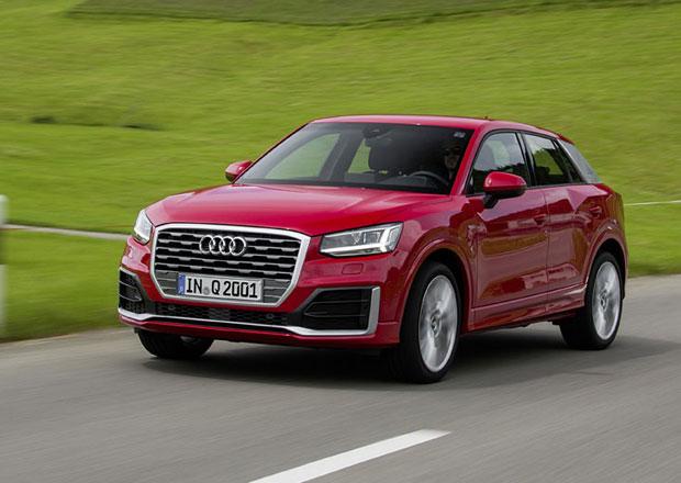 Audi Q2 jde do prodeje. Levné není a v základu má plechová kola