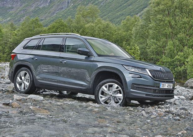 Škoda Kodiaq odhalila kompletní ceník. Kolik stojí nové SUV?