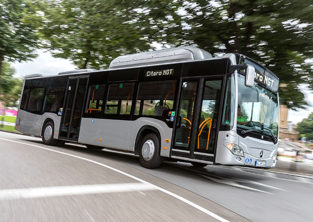 Mercedes-Benz: Autobusy s pohonem CNG
