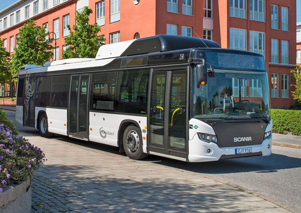 Scania: Autobusy s pohonem CNG