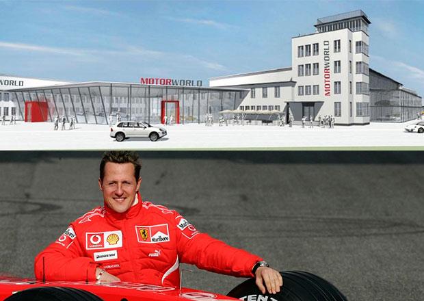 Ze Schumacherových trofejí a závodních aut bude výstavka