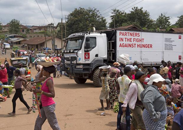 Renault Trucks a Světový potravinový program