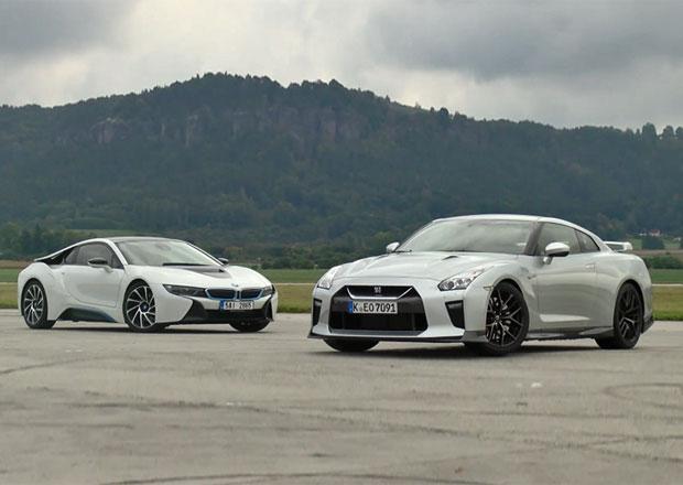 Video: BMW i8 vs. Nissan GT-R. Kdo bude rychlejší?