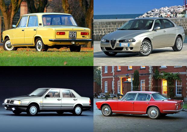 Rychle a italsky se �ty�mi dve�mi: Pod�vejte se na t�in�ct nadupan�ch sedan�!