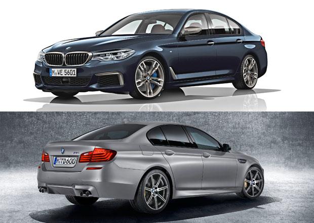 Nové BMW M550i je rychlejší než dosavadní M5. O kolik?