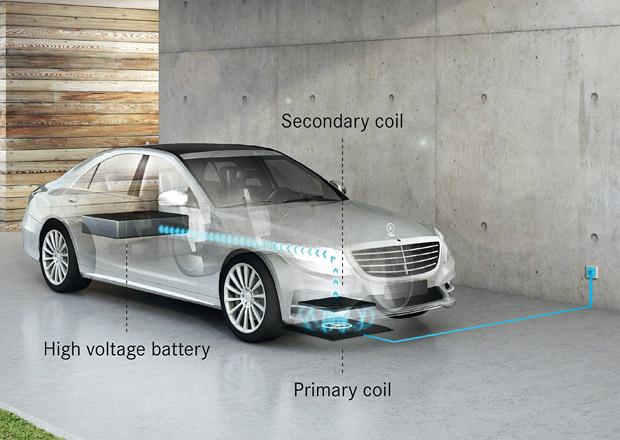 Mercedes S si nabijete jako mobil. Bezdrátově...