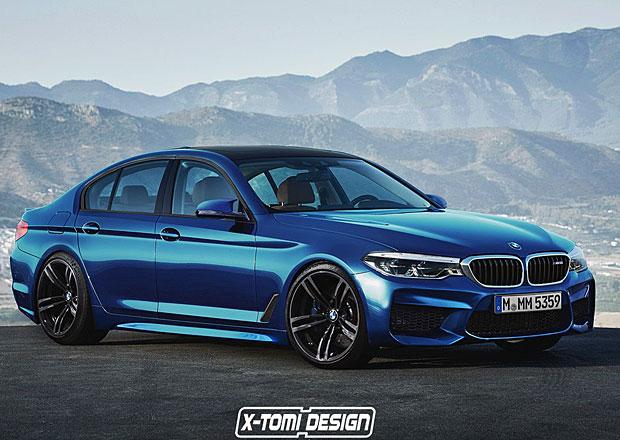 Bude takto vypadat nové BMW M5?