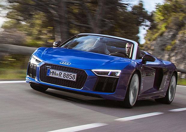 Jízdní dojmy: Audi R8 Spyder. Proč nechtít střechu?