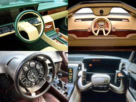 Nejbizarn�j�� volanty historie: ��m v��m jde ��dit auto?