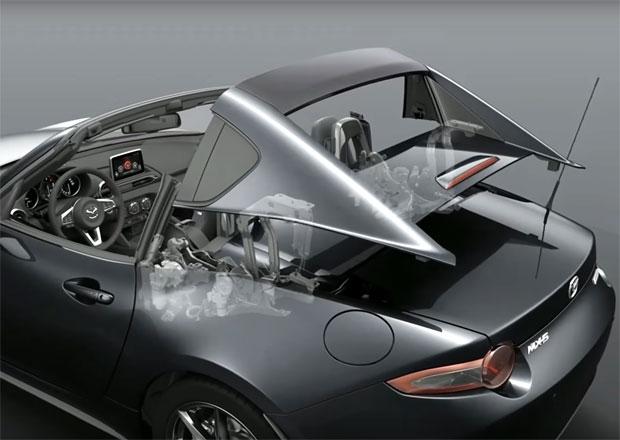 Mazda MX-5 RF: Jak funguje targastřecha? (video)