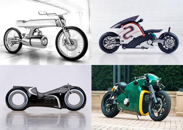 Motorky budoucnosti, které si lze koupit už teď (+videa)