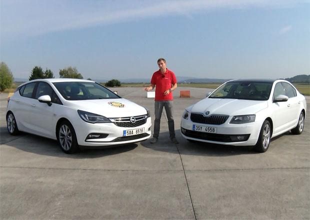 Video: Opel Astra 1.0 Turbo vs. Škoda Octavia 1.0 TSI. Měříme pružné zrychlení s půl tunou na palubě!