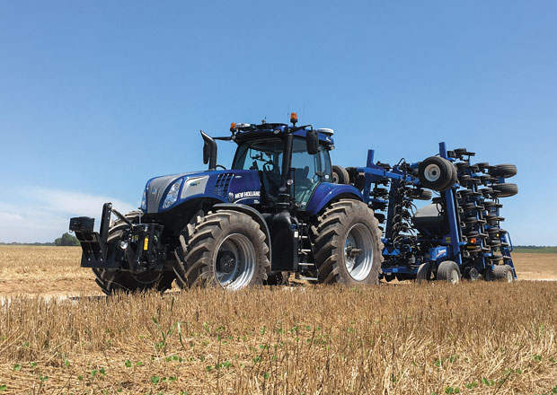 New Holland NH Drive: Koncept traktoru s autonomním řízením (+video)
