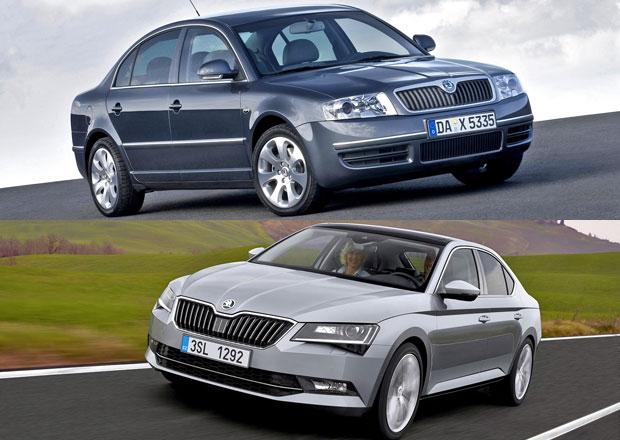 Škoda Superb slaví 15 let. Podívejte se na všechny generace!