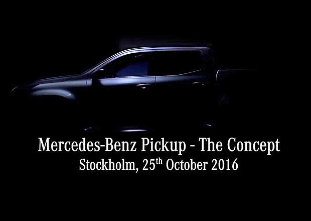 Mercedes-Benz Pickup na videoteaseru. Bude také ve verzi AMG?