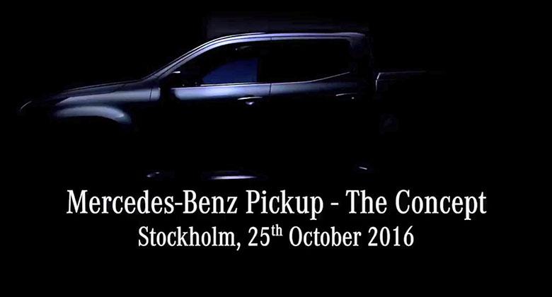 Mercedes-Benz Pickup na videoteaseru. Bude tak� ve verzi AMG?