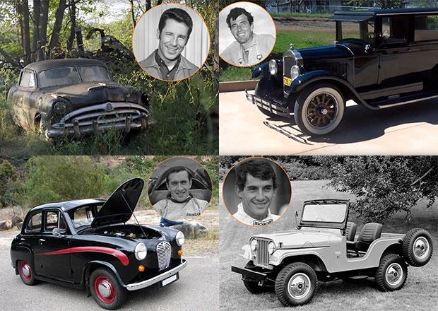 První auta slavných pilotů: Čím se učili jezdit?