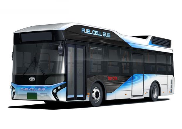 Toyota FC Bus: Palivové články v hromadné dopravě