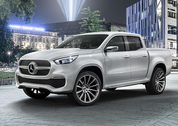 Mercedes-Benz Concept X-Class: Trojcípá hvězda míří mezi terénní pick-upy
