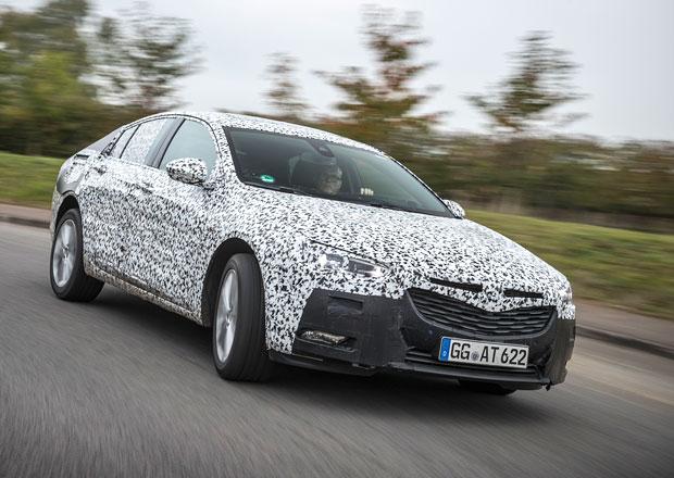 Komplet nový Opel Insignia se ukazuje: Bude to Grand Sport!