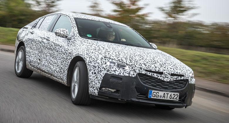 Komplet nov� Opel Insignia se ukazuje: Bude to Grand Sport!