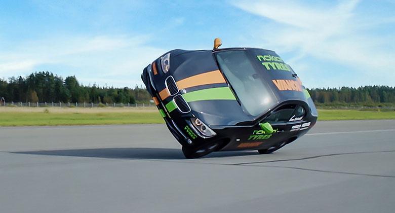 Nejrychlej�� j�zda v aut� po dvou kolech! Kolik je nov� rekord?