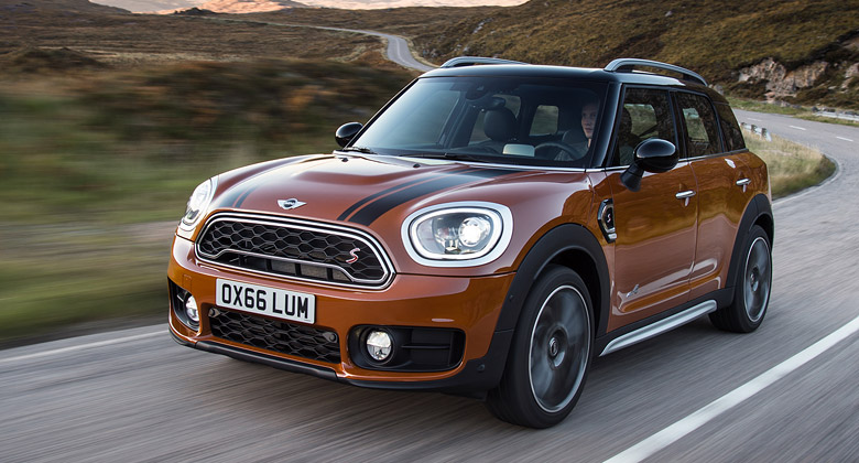Nov� Mini Countryman: Podruh� do ter�nu, tak� jako plug-in hybrid