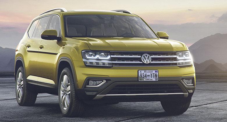 Volkswagen Atlas: Sedmim�stn� SUV pro Ameriku p�edstaveno