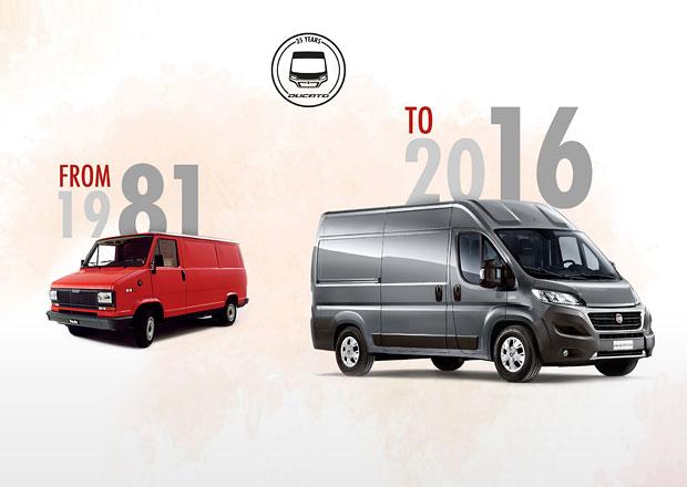 Fiat Ducato oslavil 35 let své výroby (+video)