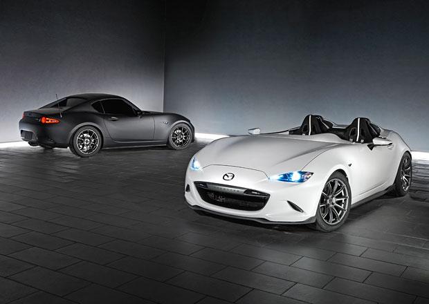 Mazda MX-5 Speedster Evolution a MX-5 RF Kuro sází na muší váhu
