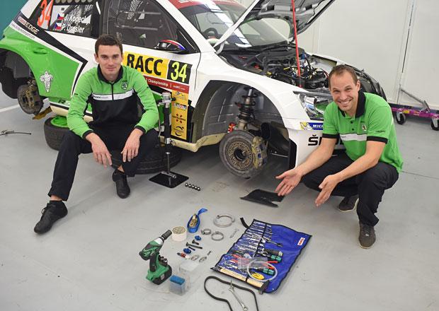 Co všechno si soutěžák zvládne opravit na autě? Je toho hodně!
