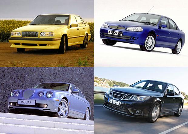 Deset ostrých sedanů, na které se zapomnělo. A nejsou z Německa!