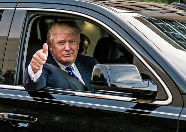 Jaká auta má rád Donald Trump? Mrkněte, čím vším jezdil