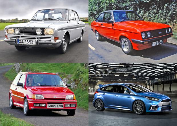 Prohlédněte si třicet podob Fordu RS. Jaký je váš nejoblíbenější?