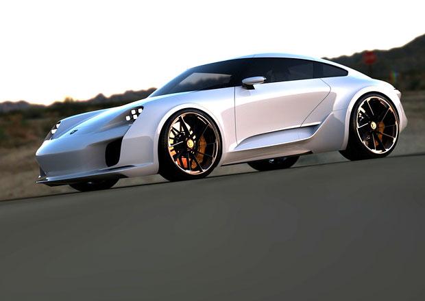 Takto si příští Porsche 911 představuje designér Bugatti Chiron