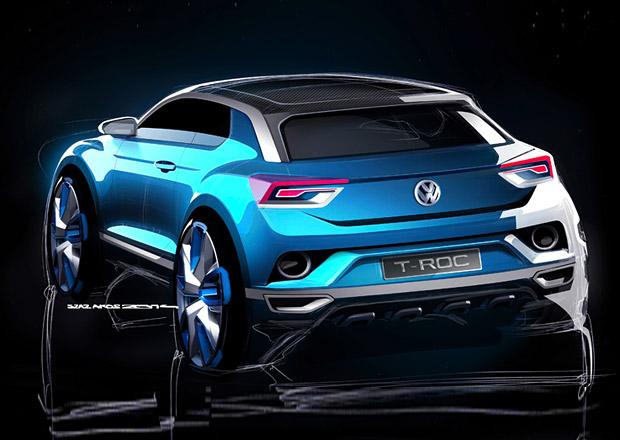 Volkswagen T-Roc se blíží, Golf SUV se představí v Ženevě