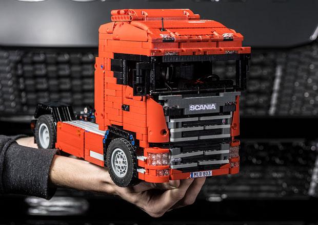 První Scania nové generace ze stavebnice Lego (+video)