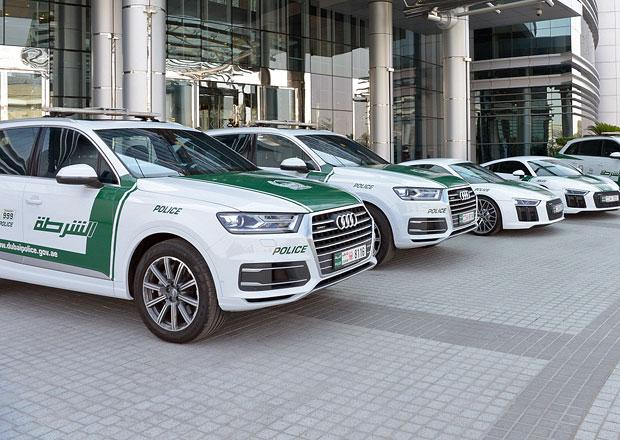 Dubajská policie šetří? Nakoupila Audi Q7 a základní R8