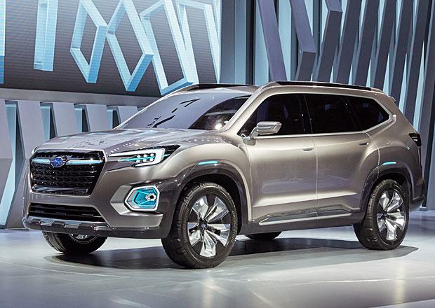 Subaru Viziv-7: Sedmimístné SUV si brousí zuby na Volkswagen Atlas