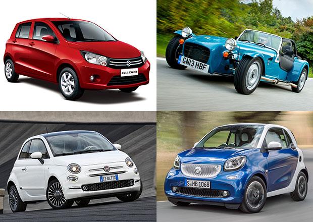 Nejmenší motory v současných osobních autech: Pod devět deci