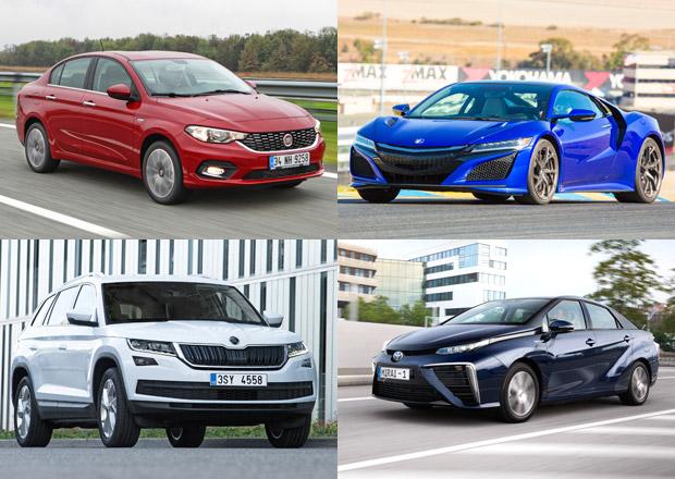 Tohle jsou kandidáti na evropské Auto roku 2017. Vyhraje Kodiaq, NSX, nebo Mirai?