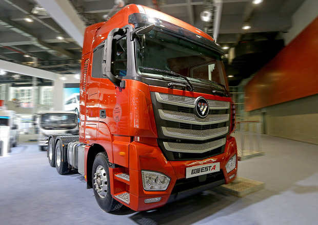 Auman EST: Chinese Truck of the Year 2017