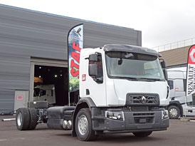 Renault Trucks D Wide CNG Euro 6 nastupuje v novém provedení