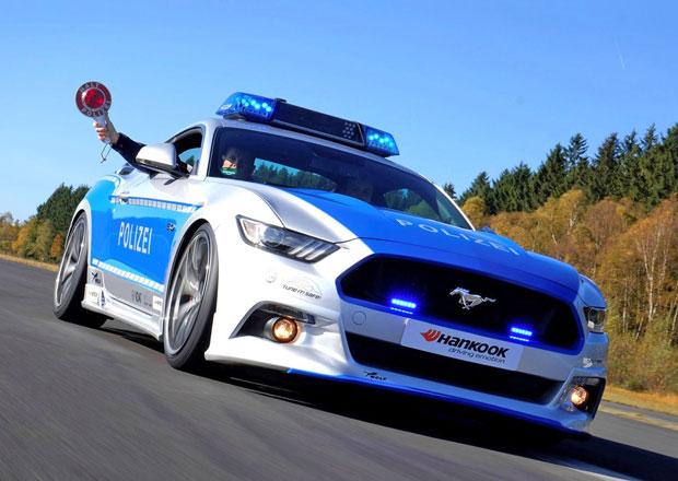 Wolf Racing připravil Ford Mustang GT pro německou policii (+video)
