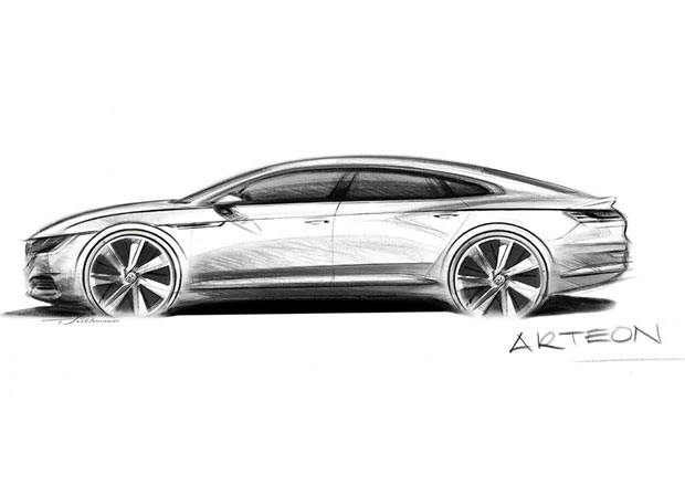 Volkswagen představuje nový model Arteon. Že by nové CC?