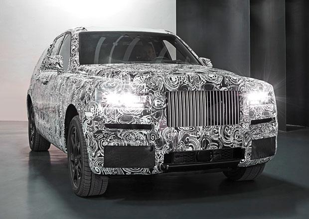 Terénní Rolls-Royce na prvních snímcích. Na silnice vyjede už zítra