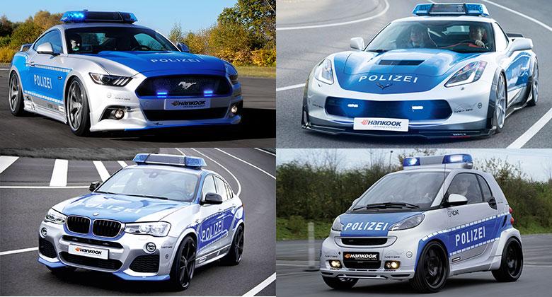 Tucet policejních speciálů: Takhle se pomáhá a chrání v Německu!
